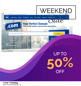 Grab 10 Best Black Friday and Cyber Monday 1 And 1 Hosting Deals & Sales