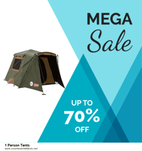 6 Best 1 Person Tents Black Friday 2020 and Cyber Monday Deals | Huge Discount