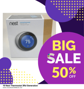 Top 11 Black Friday and Cyber Monday 10 Nest Thermostat 3Rd Generation 2021 Deals Massive Discount