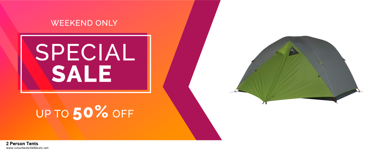 9 Best 2 Person Tents Black Friday 2020 and Cyber Monday Deals Sales