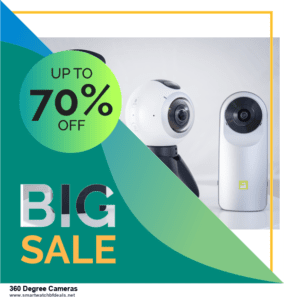 13 Best Black Friday and Cyber Monday 2021 360 Degree Cameras Deals [Up to 50% OFF]