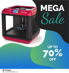 Grab 10 Best Black Friday and Cyber Monday 3D Printers Deals & Sales