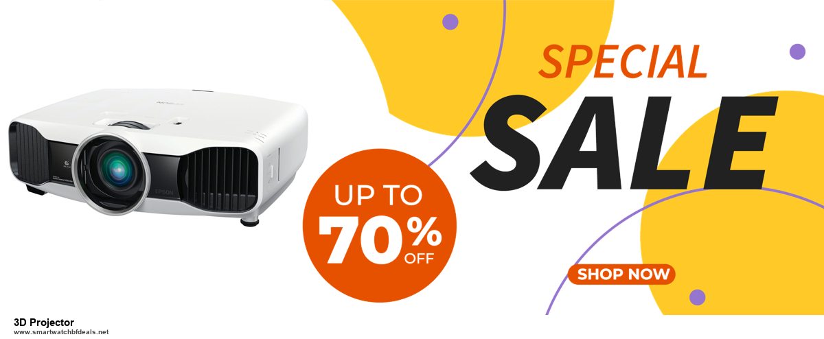 List of 6 3D Projector Black Friday 2020 and Cyber MondayDeals [Extra 50% Discount]