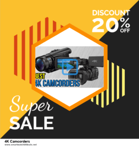 10 Best Black Friday 2020 and Cyber Monday  4K Camcorders Deals | 40% OFF