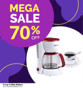Top 5 Black Friday 2020 and Cyber Monday 5 Cup Coffee Makers Deals [Grab Now]