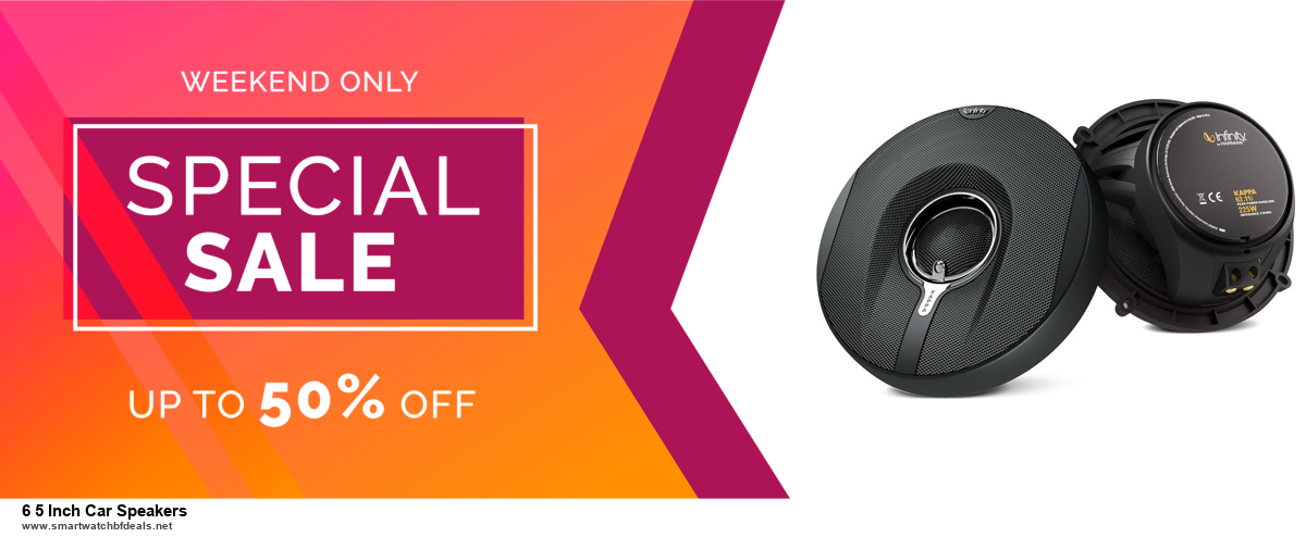 Top 10 6 5 Inch Car Speakers Black Friday 2020 and Cyber Monday Deals