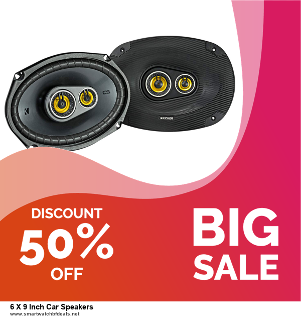 5 Best 6 X 9 Inch Car Speakers Black Friday 2020 and Cyber Monday Deals & Sales