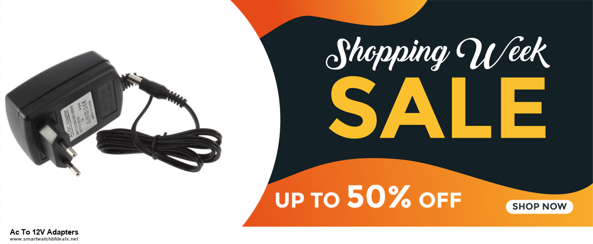 9 Best Black Friday and Cyber Monday Ac To 12V Adapters Deals 2020 [Up to 40% OFF]