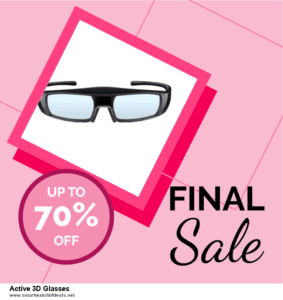 10 Best Black Friday 2020 and Cyber Monday  Active 3D Glasses Deals | 40% OFF