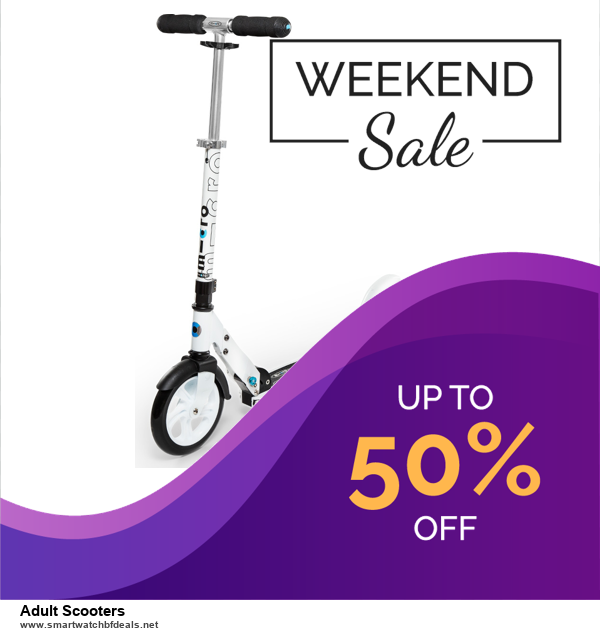 7 Best Adult Scooters Black Friday 2020 and Cyber Monday Deals [Up to 30% Discount]