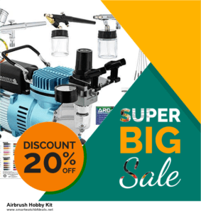 10 Best Black Friday 2021 and Cyber Monday  Airbrush Hobby Kit Deals | 40% OFF