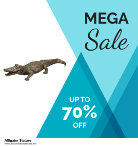 10 Best Alligator Statues Black Friday 2020 and Cyber Monday Deals Discount Coupons