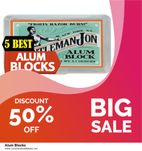 6 Best Alum Blocks Black Friday 2020 and Cyber Monday Deals | Huge Discount