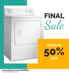 Top 11 Black Friday and Cyber Monday Amana Electric Dryer Ned4500Vq 2020 Deals Massive Discount