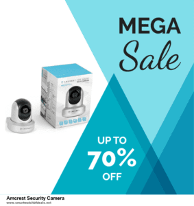 9 Best Black Friday and Cyber Monday Amcrest Security Camera Deals 2020 [Up to 40% OFF]