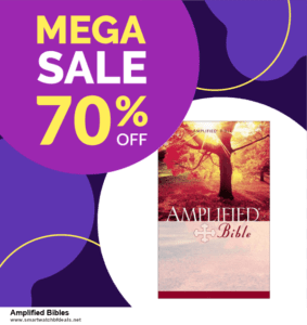 9 Best Amplified Bibles Black Friday 2020 and Cyber Monday Deals Sales