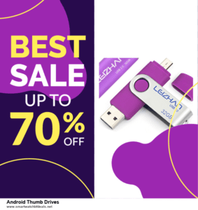 9 Best Black Friday and Cyber Monday Android Thumb Drives Deals 2020 [Up to 40% OFF]