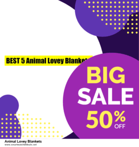 10 Best Black Friday 2020 and Cyber Monday  Animal Lovey Blankets Deals | 40% OFF