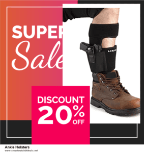 9 Best Black Friday and Cyber Monday Ankle Holsters Deals 2020 [Up to 40% OFF]