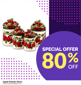 Top 5 Black Friday and Cyber Monday Apple Kitchen Decor Deals 2020 Buy Now