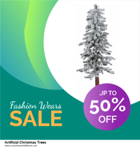 9 Best Black Friday and Cyber Monday Artificial Christmas Trees Deals 2021 [Up to 40% OFF]