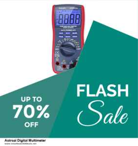 List of 6 Astroai Digital Multimeter Black Friday 2020 and Cyber MondayDeals [Extra 50% Discount]