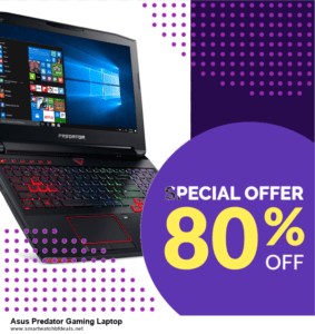 5 Best Asus Predator Gaming Laptop Black Friday 2020 and Cyber Monday Deals & Sales