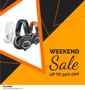 Grab 10 Best Black Friday and Cyber Monday Ath M50X Deals & Sales