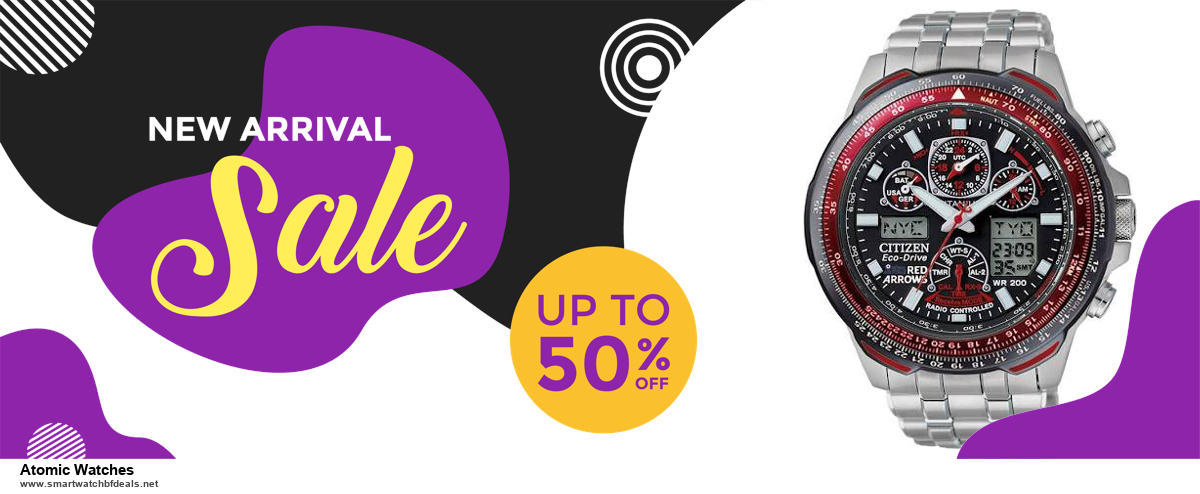 Top 11 Black Friday and Cyber Monday Atomic Watches 2020 Deals Massive Discount