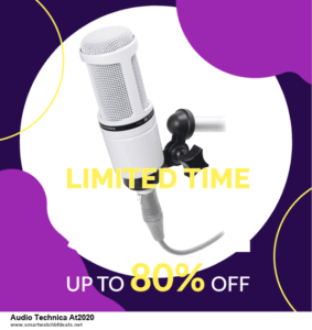 Top 5 Black Friday 2021 and Cyber Monday Audio Technica At2020 Deals [Grab Now]