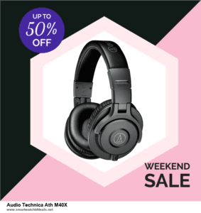 List of 6 Audio Technica Ath M40X Black Friday 2020 and Cyber MondayDeals [Extra 50% Discount]