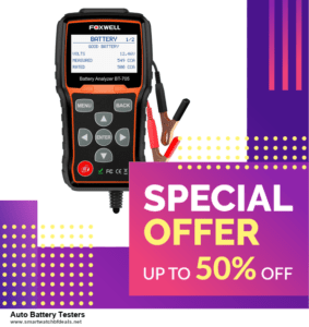 13 Best Black Friday and Cyber Monday 2020 Auto Battery Testers Deals [Up to 50% OFF]