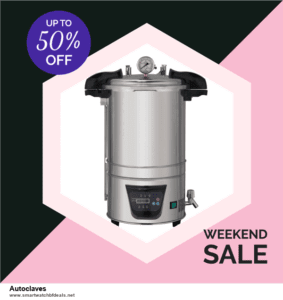 6 Best Autoclaves Black Friday 2020 and Cyber Monday Deals | Huge Discount