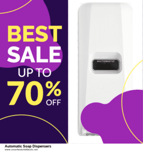 13 Best Black Friday and Cyber Monday 2020 Automatic Soap Dispensers Deals [Up to 50% OFF]