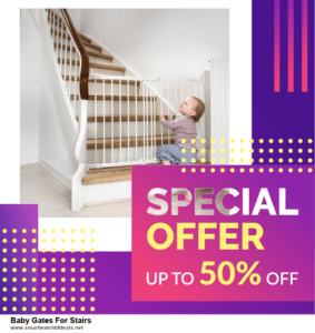 10 Best Black Friday 2020 and Cyber Monday  Baby Gates For Stairs Deals | 40% OFF