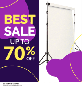 Grab 10 Best Black Friday and Cyber Monday Backdrop Stands Deals & Sales