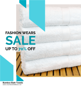 Grab 10 Best Black Friday and Cyber Monday Bamboo Bath Towels Deals & Sales