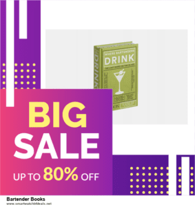 9 Best Bartender Books Black Friday 2020 and Cyber Monday Deals Sales