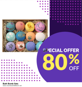List of 6 Bath Bomb Sets Black Friday 2020 and Cyber MondayDeals [Extra 50% Discount]