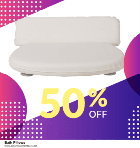 7 Best Bath Pillows Black Friday 2020 and Cyber Monday Deals [Up to 30% Discount]