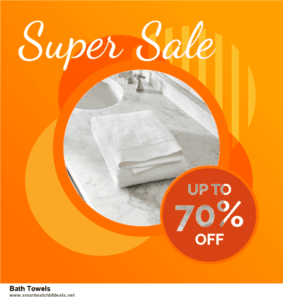5 Best Bath Towels Black Friday 2020 and Cyber Monday Deals & Sales