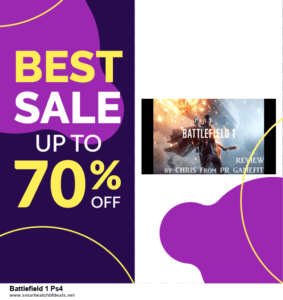 5 Best Battlefield 1 Ps4 Black Friday 2020 and Cyber Monday Deals & Sales