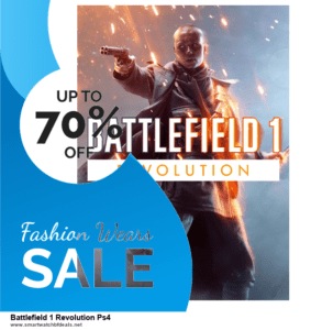13 Best Black Friday and Cyber Monday 2020 Battlefield 1 Revolution Ps4 Deals [Up to 50% OFF]