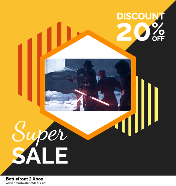 List of 6 Battlefront 2 Xbox Black Friday 2020 and Cyber MondayDeals [Extra 50% Discount]