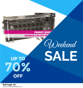 Grab 10 Best Black Friday and Cyber Monday Behringer Air Deals & Sales