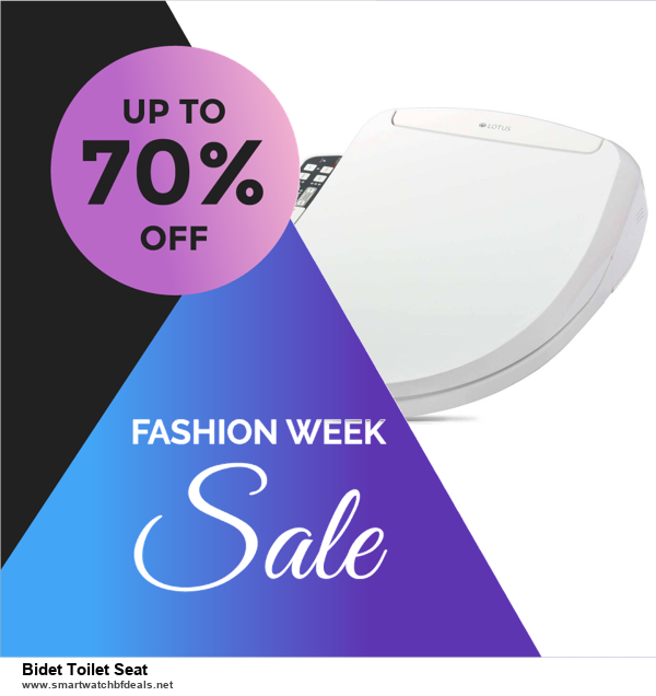 9 Best Bidet Toilet Seat Black Friday 2020 and Cyber Monday Deals Sales
