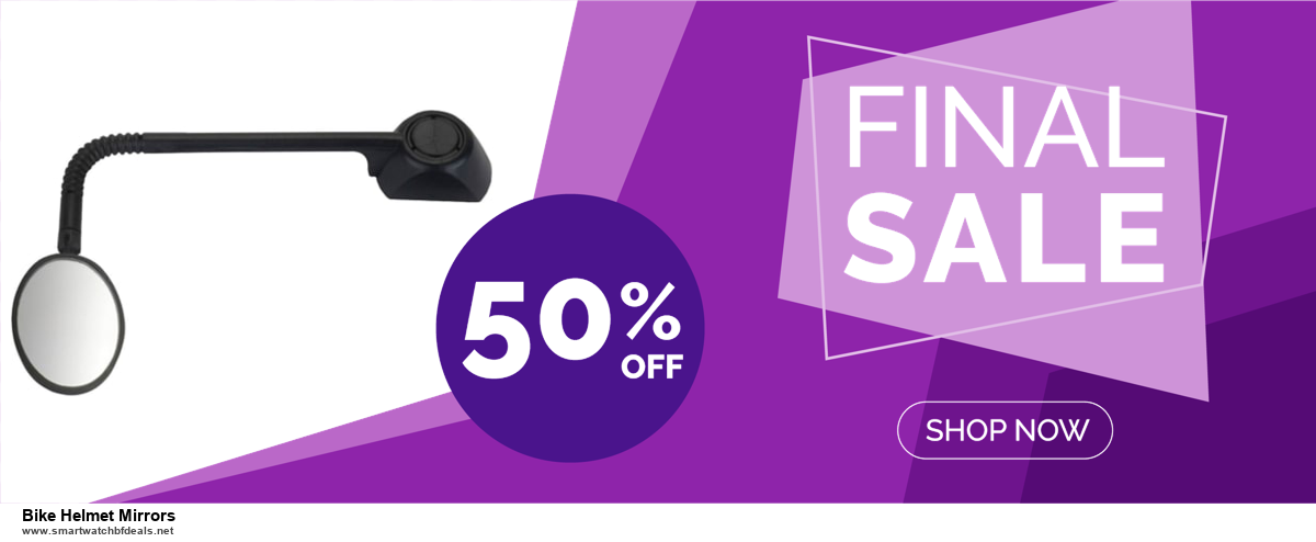 9 Best Black Friday and Cyber Monday Bike Helmet Mirrors Deals 2020 [Up to 40% OFF]