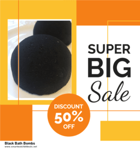 9 Best Black Bath Bombs Black Friday 2020 and Cyber Monday Deals Sales