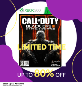 Grab 10 Best Black Friday and Cyber Monday Black Ops 3 Xbox One Deals & Sales