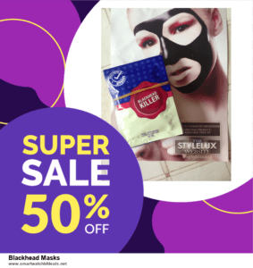 List of 6 Blackhead Masks Black Friday 2020 and Cyber MondayDeals [Extra 50% Discount]